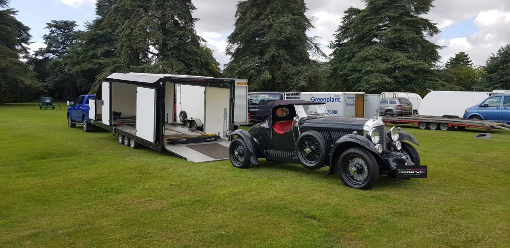 Bentley Delivered to Blenheim Palace Motor Show